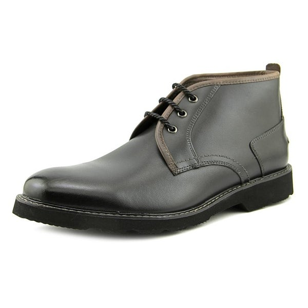Florsheim Casey Men  Round Toe Leather Black Chukka Boot