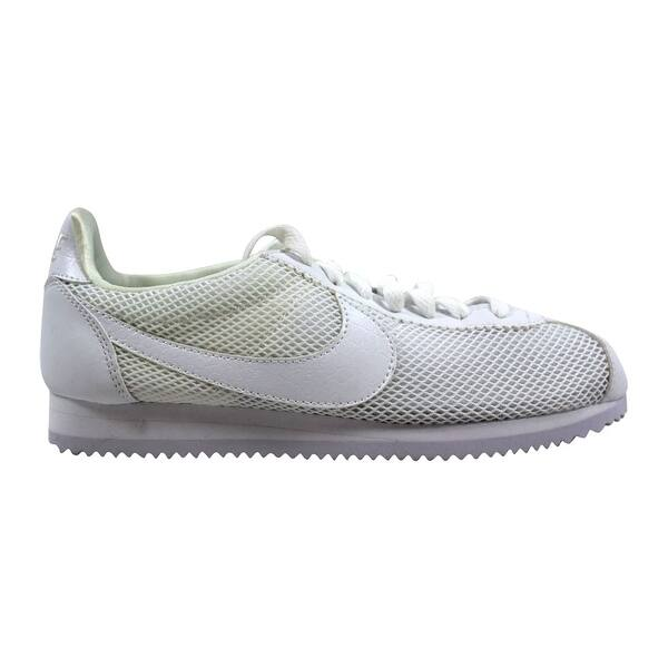 d1864278e Shop Nike Women's Classic Cortez Premium White/White 905614-101 Size ...