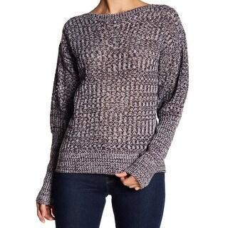 John + Jenn White Womens Medium Knitted Sweater
