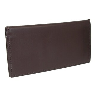 Scully Leather Pocket Secretary Checkbook Wallet