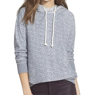 Stem NEW Gray Women's Size Large L Textured Pullover Hooded Sweater