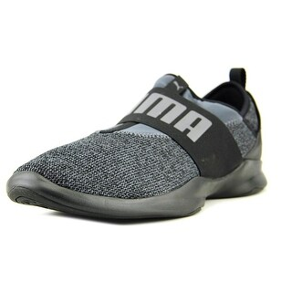 Puma Dare Tw Knit Men Round Toe Synthetic Gray Cross Training