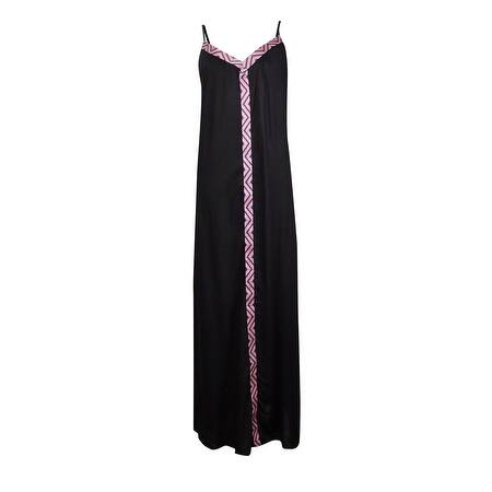 Raviya Women's Embroidered Maxi Dress Coverup