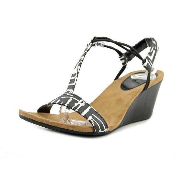 Style & Co Mulan Women Black/White Sandals