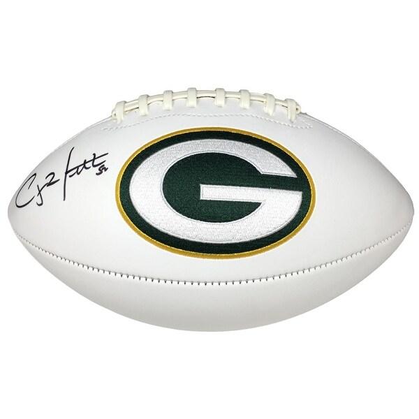 Clay Matthews Signed Green Bay Packers Logo Football Fanatics