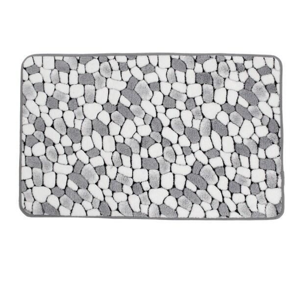 shop unique bargains white gray cobblestone pattern