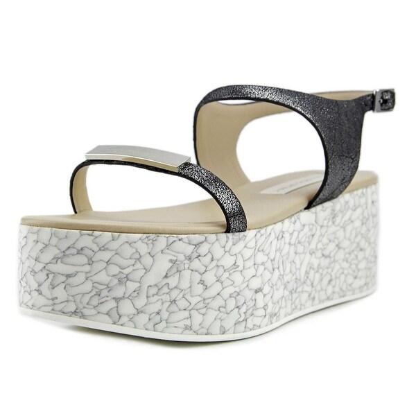 e557a8196072 Shop Stella McCartney Ennis Women Open Toe Synthetic Gray Platform ...