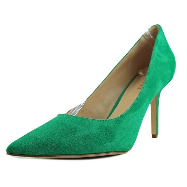 Nine West Jackpot Pointed Toe Suede Heels