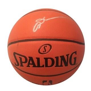 Allen Iverson Philadelphia 76ers Autographed NBA Signed Basketball JSA COA