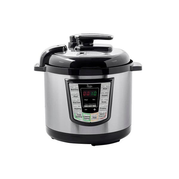 Shop Monoprice 1000W Electric Pressure Cooker All in one Pot ...