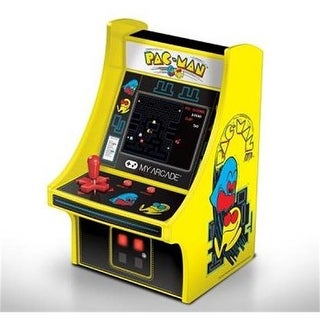 DreamGear DG-DGUNL-3220 6 in. Collectible Retro Pac-Man Micro Playe