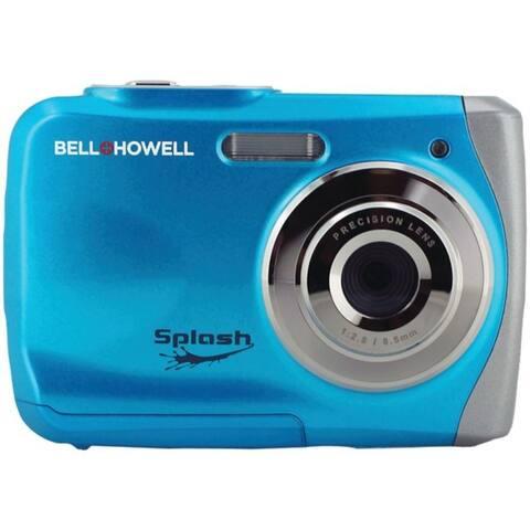12.0-Megapixel WP7 Splash Waterproof Digital Camera (Blue)