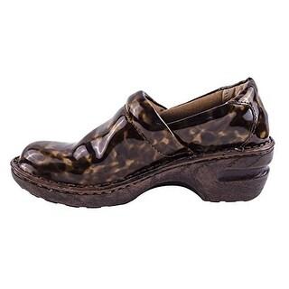 b.o.c Born Concept Women's Margaret Patent Leather Clogs