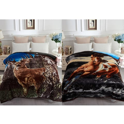 Korean Style Silky Soft Plush Warm Blanket For Autumn Winter