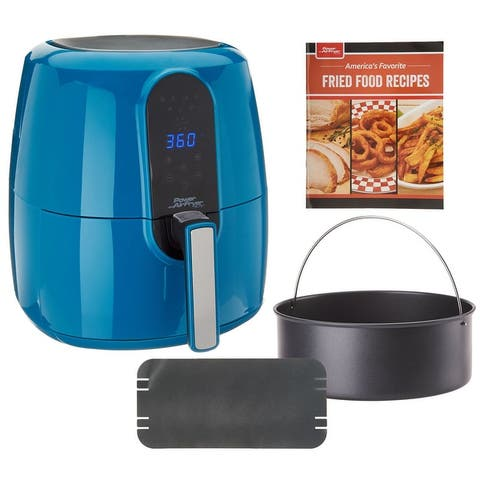 Power Air Fryer Elite 5.5-qt 6-in-1 Digital Air Fryer w/ Cake Pan