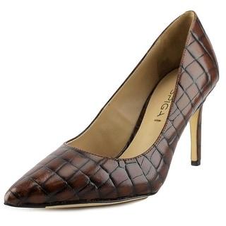 Via Spiga Carola Pointed Toe Leather Heels