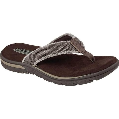 a1428974f36f Skechers Men s Relaxed Fit Supreme Bosnia Chocolate