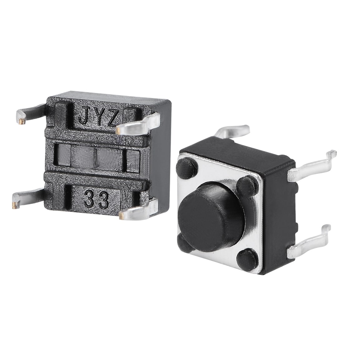 100pcs NEW 4-pin DIP Tactile Push Button Switch Tact Switch 12X12X10mm