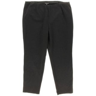 Eileen Fisher Womens Plus Ponte Stretch Leggings - 3X