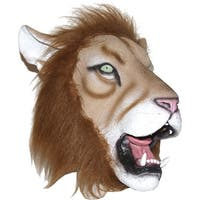 King of the Jungle Lion Adult Mask Halloween Costumes