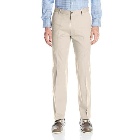 Dockers Men's Straight Fit Signature Khaki Flat Front Pant D2