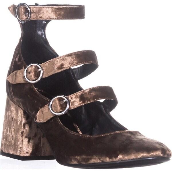 Indigo Rd. Jallen Mary Jane Pumps, Dark Brown - 8.5 us