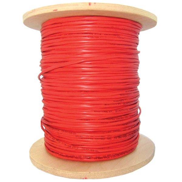 Offex 2 Fiber Indoor Distribution Fiber Optic Cable, Multimode, 62.5/125, Orange, Riser Rated, Spool, 1000 foot