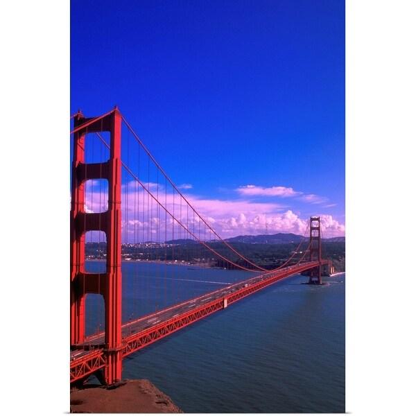 """Golden gate bridge"" Poster Print"