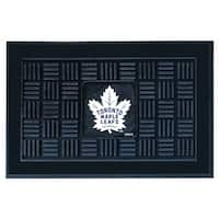 Toronto Maple Leafs Medallion Door Mat