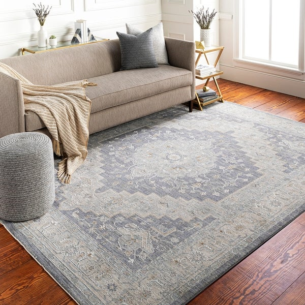 Rian Classic Medallion Area Rug. Opens flyout.