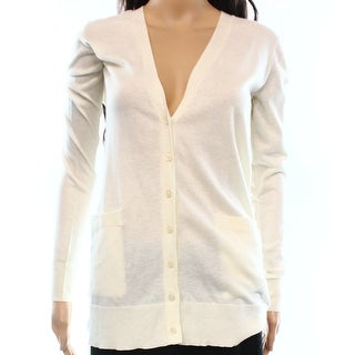 Lauren Ralph Lauren NEW White Ivory Women's Small S Cardigan Sweater