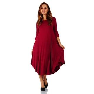 Shin Length Dresses