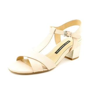 French Connection Lara Women Open Toe Leather Sandals