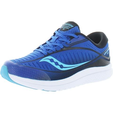 Saucony Boys S-Kinvara 10 Walking Shoes Performance Lifestyle - Blue/Black