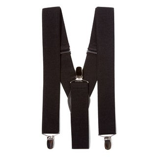 Gravity Threads Classic 1.3 Inch Wide Clip Suspenders - One size