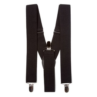 Gravity Threads Classic Heavy Duty Quality Clip Suspenders - One size