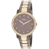 Fossil Women's Neely  Gold Stainless-Steel Japanese Quartz Fashion Watch