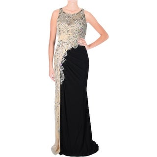 JVN by Jovani Womens Formal Dress Embellished Ruched