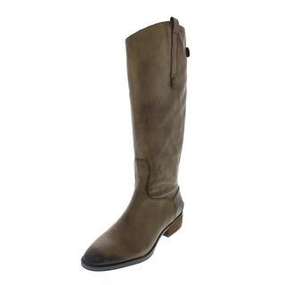 Sam Edelman Womens Penny Riding Boots Leather Knee High