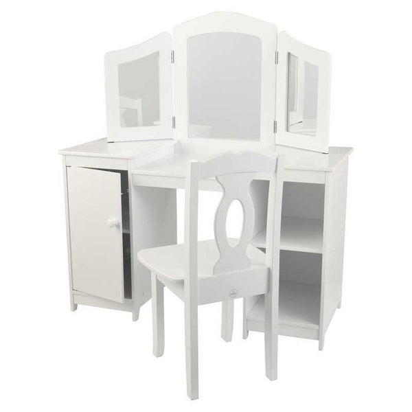 Shop KidKraft: Deluxe Vanity & Chair   Free Shipping Today