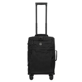 Bric's X-Bag 2.0 21 Inch Carry On Spinner, Black/Black