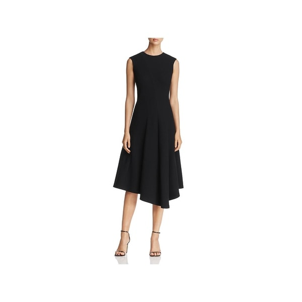 Shop Lafayette 148 New York Womens Aveena Party Dress Asymmetrical