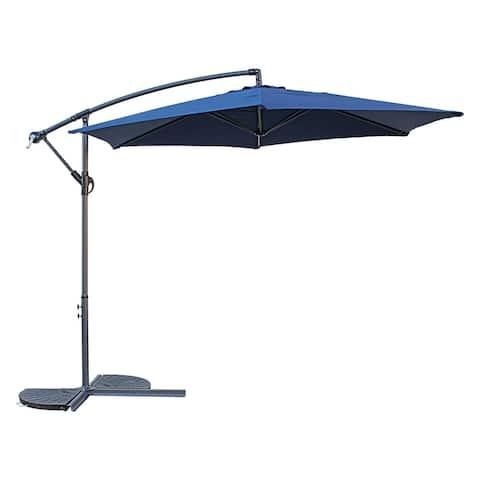 International Caravan St. Kitts Three-Meter Cantilever Umbrella