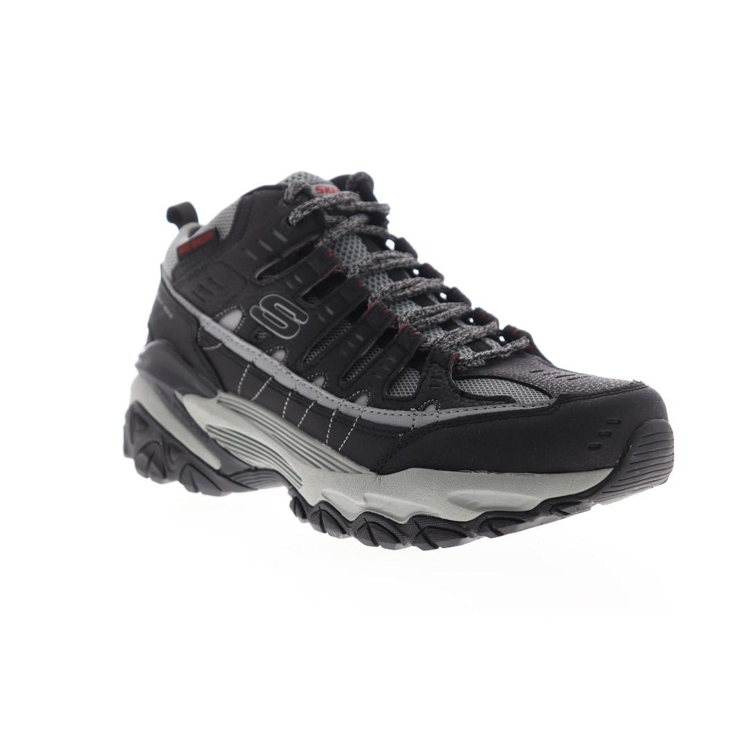 Skechers M.Fit Max Pelraine 51967 Mens Black Mesh Athletic Cross Training Shoes