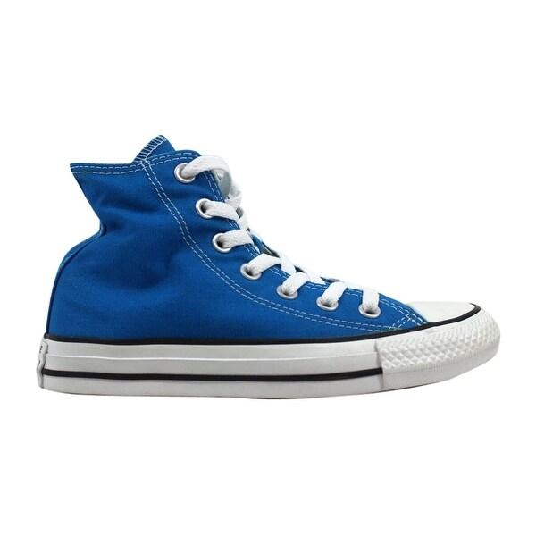 984857a02b305d Shop Converse Men s Chuck Taylor Hi Cyan Space 149511F Size 3 - Free ...