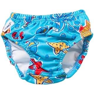FINIS Reusable Swim Diaper - Blue Octopus