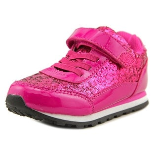 Nina Kids Dani Youth Round Toe Synthetic Pink Sneakers