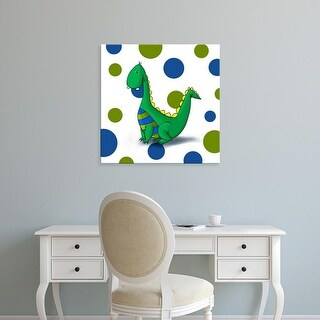 Easy Art Prints GraphINC's 'Dragon' Premium Canvas Art