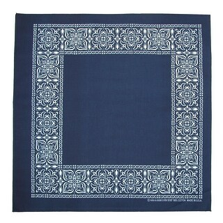 CTM® Open Center Paisley Print Bandana
