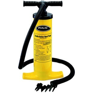 Rave Sports 02341 Double Action Hand Pump